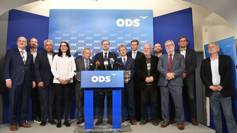 Zástupci Občanské demokratické strany, foto: ČTK / Michal Kamaryt