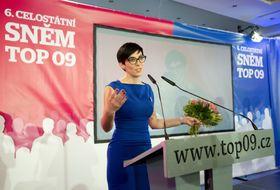 Markéta Pekarová Adamová, photo: ČTK/Kateřina Šulová