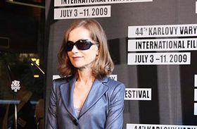 Isabelle Huppert, photo: Štěpánka Budková