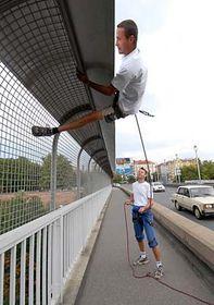 Nové zábrany proti sebevrahům, foto: ČTK