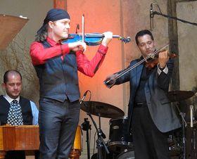 Совместное выступление с группой Gypsy Spirit, Фото: Кристина Макова, Чешское радио - Радио Прага