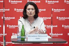 Miroslava Němcová (Foto: Filip Jandourek, Archiv des Tschechischen Rundfunks)