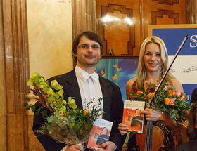 Jitka Hosprová y Štěpán Kos, foto: Kamil RakytaCC BY-SA 3.0