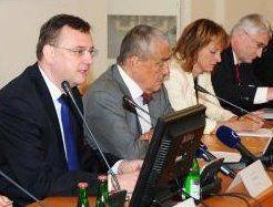 Petr Nečas y Karel Schwarzenberg, foto: Archivo del Ministerio de RR.EE., Robert Janás