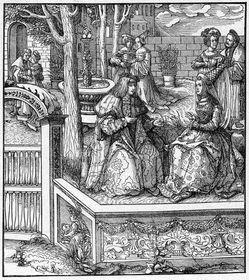 Maximilien de Habsbourg et Marie de Bourgogne