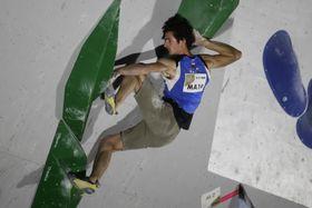 Adam Ondra, foto: ČTK/AP/Jae C. Hong
