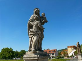 Statue der Heiligen Anna (Foto: Filip Černý, Archiv des Tschechischen Rundfunks)