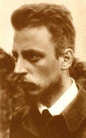 Rainer Maria Rilke, photo: Public Domain