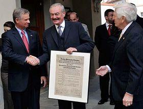 Richard Graber and Přemysl Sobotka, photo: CTK