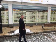 Tomáš Petříček en Ukraine, photo: Kateřina Ayzpurvit