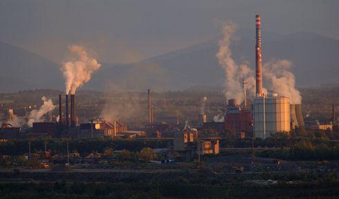 ArcelorMittal v Ostravě, foto: Petr Štefek, Wikimedia Commons, CC BY-SA 3.0 CZ