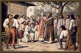 Кирилл и Мефодий в Великой Моравии