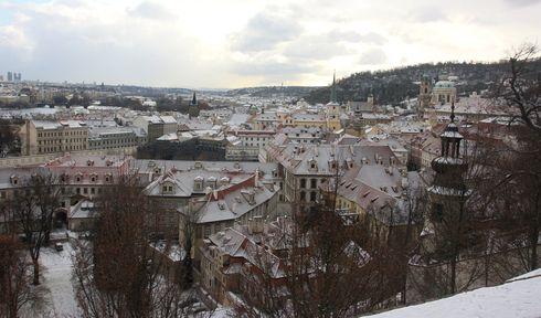 Prag im Winter (Foto: Štěpánka Budková)