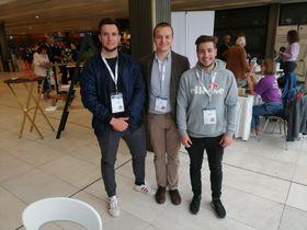 Участники «Игр» Марек Рандысек, Денис Дворжак и Шимон Конупчик, фото: Екатерина Сташевская