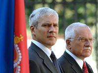 Boris Tadic et Vaclav Klaus, photo: CTK