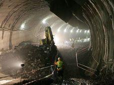Строительство тоннеля Бланка (Фото: www.tunelblanka.cz)