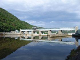 La represa de Štěchovice, foto: Miloš Turek