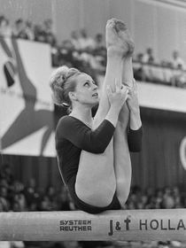 Věra Čáslavská, photo: Ron Kroon / Anefo, CC 3.0