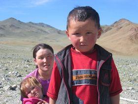 Mongolské děti, foto: tiarescott, CC BY 2.0