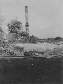 поселок Чешский Малин, сожженный нацистами, фото: Post Bellum