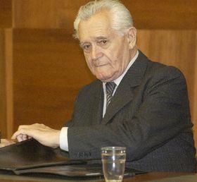 Karel Hoffmann fue sentencionado a seis años de prisión por sabotaje, foto: CTK