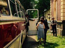 Natáčení filmu 'Honza má pech', foto: archiv Reny Dumont