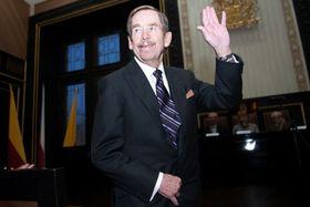 Václav Havel, photo: Tomáš Adamec / Czech Radio