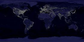 Световой смог, фото: открытый источник
