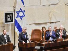 Miloš Zeman in Knesset, photo: ČTK/Vít Šimánek