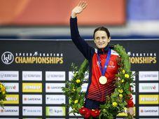 Martina Sáblíková, foto: ČTK/AP/Jeff McIntosh