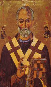 Икона Св. Николая в монастыре Св. Екатерины в   Египте, фото: открытый источник