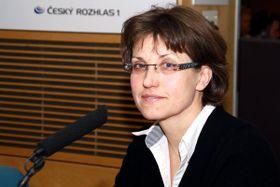 Dagmar Hájková, photo: Šárka Ševčíková, ČRo