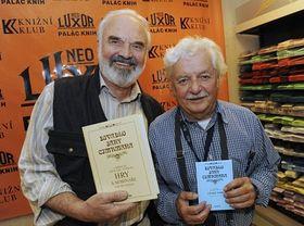 Zdeněk Svěrák, Ladislav Smoljak (right), photo: CTK