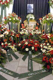 The funeral of Ivan Hlinka, photo: CTK