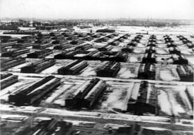 Auschwitz II (Birkenau). Foto: National Archives, Washington, DC, Public Domain