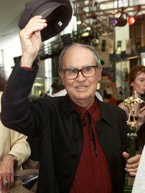 Итальянский режиссер Витторио Тавиани на кинофестивале в Москве