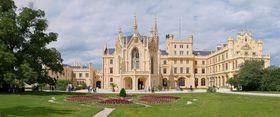 Замок Леднице, фото: Pudelek CC BY-SA 3.0