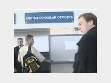 Britské kontroly na Ruzyňském letišti