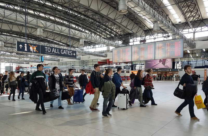 El aeropuerto internacional de Praga Václav Havel, foto: Ondřej Tomšů