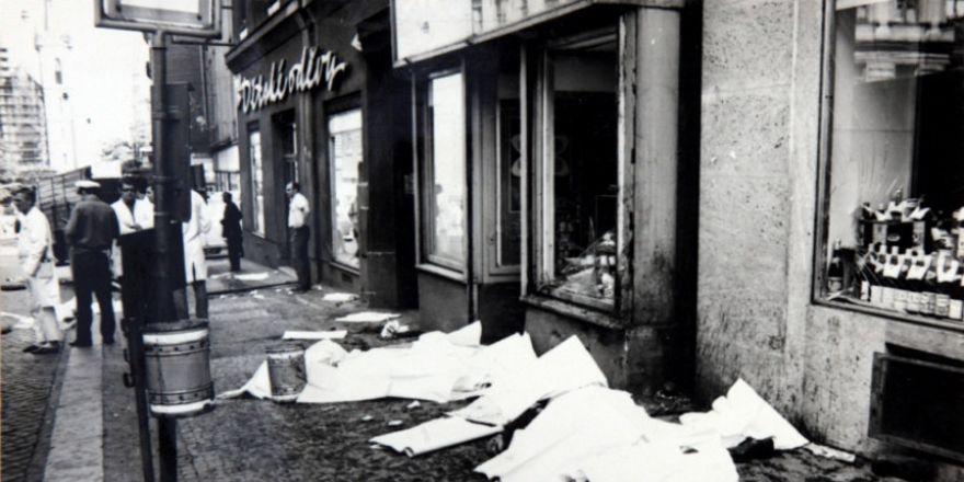 Tatort (Foto: Archiv des Museums der Polizei)