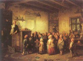 Школьное обучение во время Марии Терезии