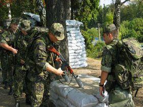 Los soldados checos de KFOR en Kosovo