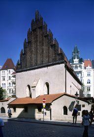 Sinagoga Viejonueva en el Barrio Judío de Praga(Foto: www.czechtourism.cz)