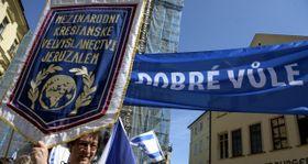 Una marcha contra el antisemitismo, foto: ČTK