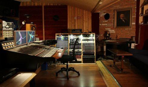 Blue studio, photo: archive of Studio Faust Records