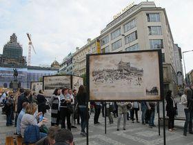 Ausstellung über die Prager Neustadt (Foto: Martina Schneibergová)