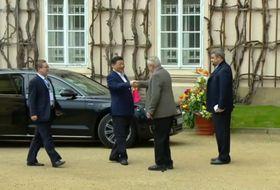 Xi Jinping y Miloš Zeman, foto: ČT24