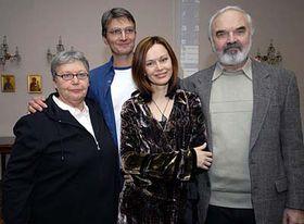 Ирина Безрукова, Ян Сверак, Лилиан Малкина и Зденек Сверак (Фото: ЧТК)