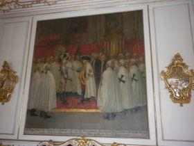 Obrazová výzdoba na zámku vBruntále