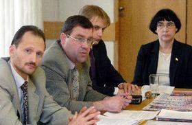 Пресс-конференция «Русской партии ЕС» (Фото: ЧТК)